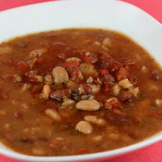 Calico Bean Soup Slow Cooker