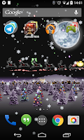 Screenshot of Christmas Live Wallpaper HD