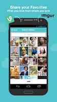 Screenshot of Reactr: Selfies + Reactions