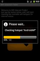 Screenshot of WiFi Internet Finder