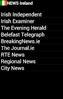 Screenshot of News Ireland