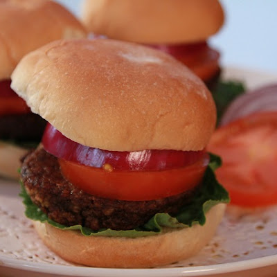 Vegan Southwestern Bean and Corn Burgers