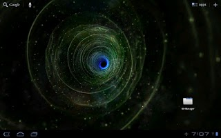 Screenshot of Galactic Wormhole Free Version