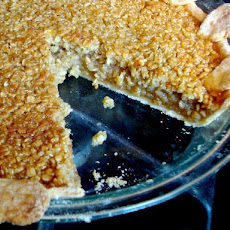 Maple Oatmeal Pie