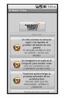 Screenshot of El Mundo Today + Rokambol