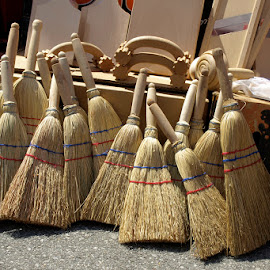 Brooms by Khaled Ibrahim - Artistic Objects Other Objects