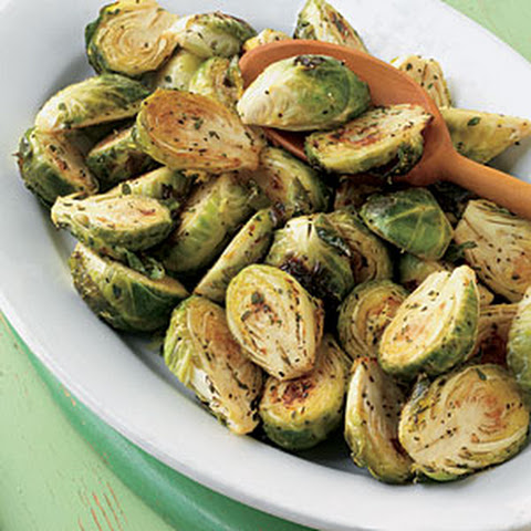Caramelized Brussels Sprouts With Sherry-Dijon Vinaigrette Recipes ...