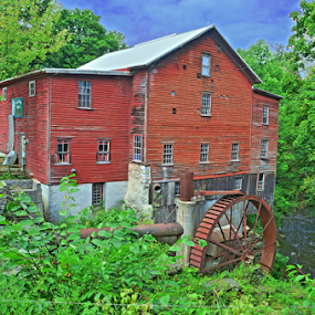 New Hope Mills by Steve Friedman - Buildings & Architecture Public & Historical ( mill, millhouse,  )