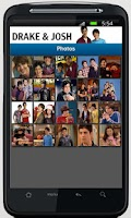 Screenshot of Drake & Josh App
