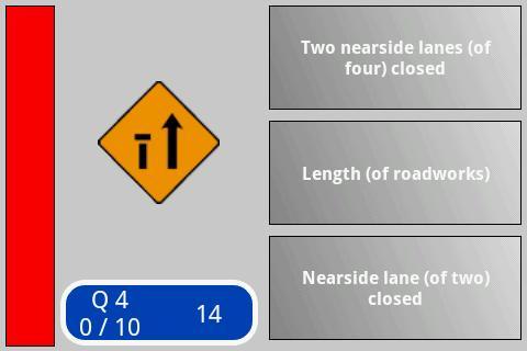 Irish Road Signs Quiz