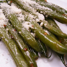 Green Beans With Parmesan and Garlic
