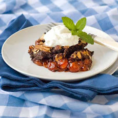 Gluten Free Chocolate Cherry Dump Cake