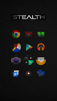 Screenshot of Stealth - Icon Pack