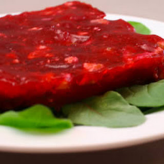 Double Berry Jello Salad