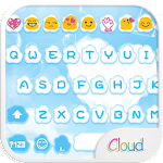 Cloud Love Emoji Keyboard Skin 1.1.2 Apk