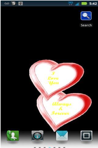 Chasing Hearts Live Wallpaper