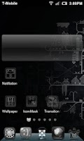 Screenshot of Simple Black White HD Theme