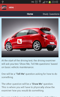 Show Me Tell Me Driving Guide - screenshot