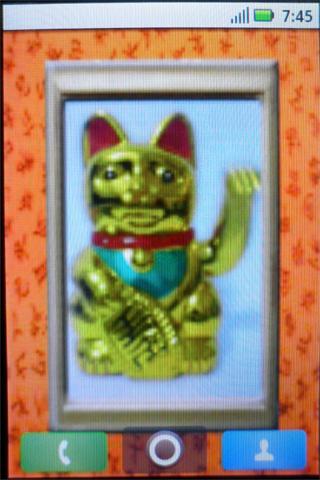 玩個人化App|Livewallpaper fortune cat免費|APP試玩