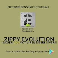 Screenshot of ZippyEvolution Raccolta Ordini
