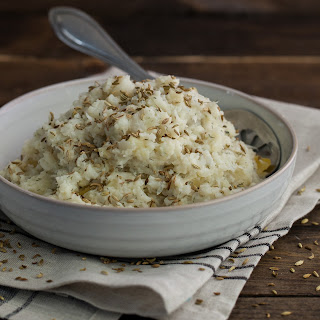Gluten-Free Herbed Mashed Cauliflower with Root Vegetables