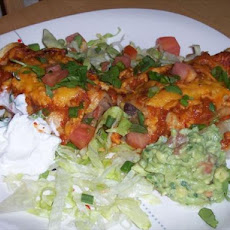 Southwest Black Bean and Corn Enchiladas
