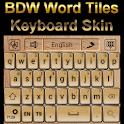 Word Tiles Keyboard skin icon