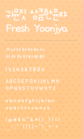 Screenshot of FreshYonja dodol launcher font