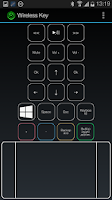 Screenshot of Wireless Key control panel