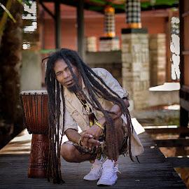penabuh kendang by Bramantya Wardana - People Musicians & Entertainers