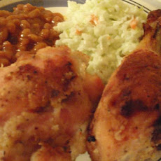Mom Mom's Secret Good Seasons Oven Baked Chicken
