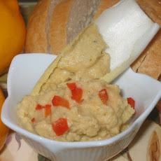 Meyer Lemon Chickpea Dip