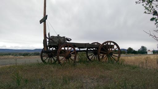 Antique Plow Wagon