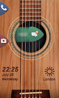 Screenshot of Guitar Life GO Locker Theme