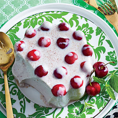 Spiced Coconut-Cherry Mold