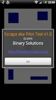 Screenshot of Escapa aka Pilot Test