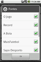 Screenshot of Futebol Portugal