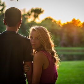 Taylor by Brandi Davis - People Couples ( love, girl, sunset, beautiful, senior )