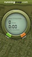 Screenshot of Runningmap Trackometer
