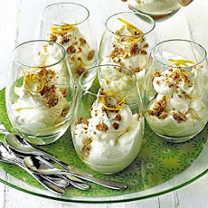 Limoncello Syllabub With Crushed Amaretti