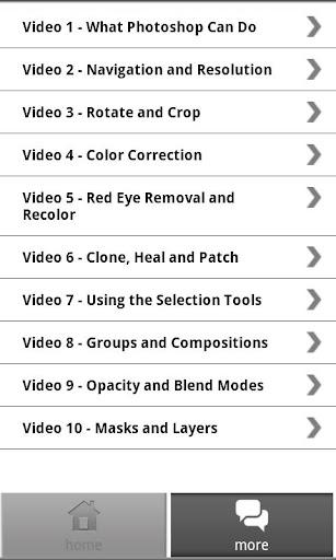 【免費媒體與影片App】Photoshop CS Mastery (Video)-APP點子
