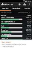 Screenshot of Goodbudget: Budget & Finance