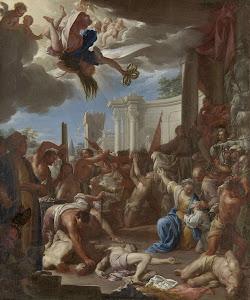 RIJKS: Francesco Trevisani: The Martyrdom of the Seven Sons of Saint Felicity 1709