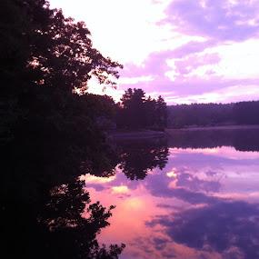 Mirror Lake by Linda Hogue - Landscapes Sunsets & Sunrises (  )