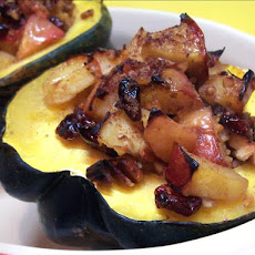 Apple Stuffed Acorn Squash
