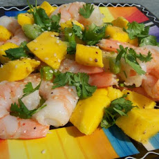 Shrimp Salad With Mango