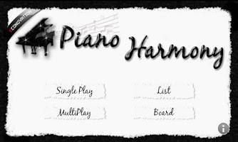 Screenshot of 피아노 하모니