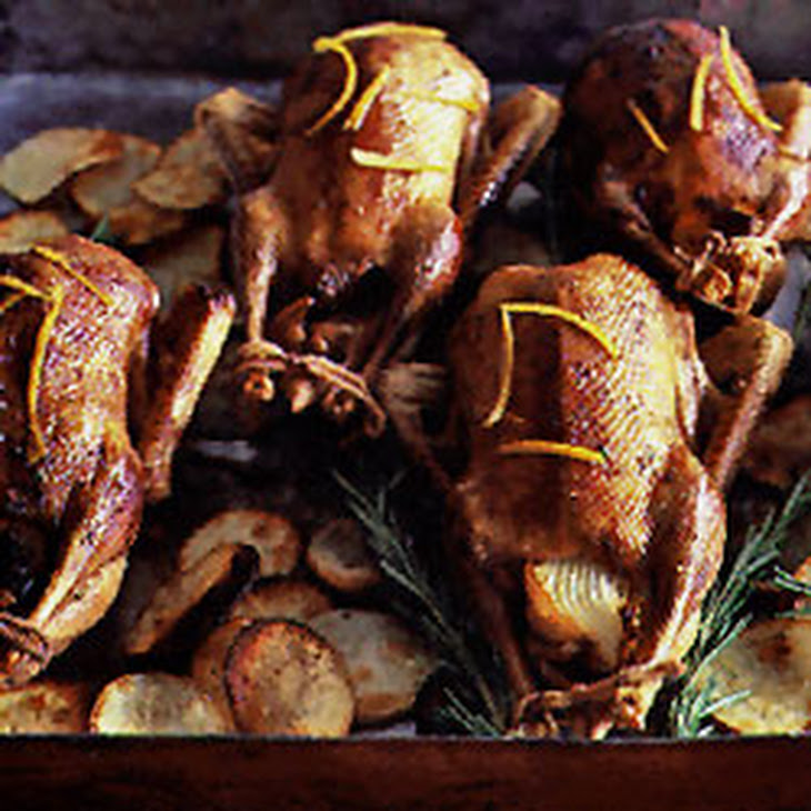 with orange and rosemary spit roasted duck with orange and rosemary ...