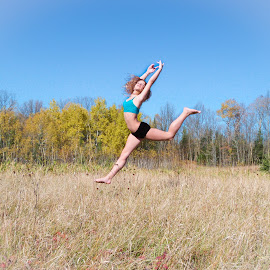 by Mija Trombley - Sports & Fitness Other Sports ( field, dancing, fall, ballet, dance )