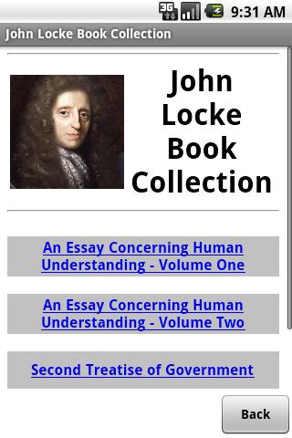 John Locke Book Collection